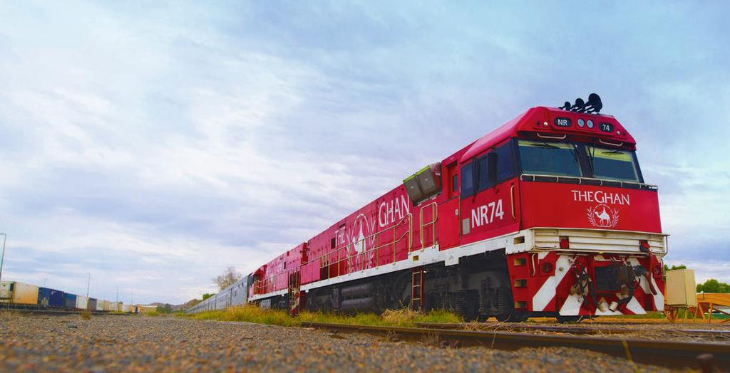 THE GHAN TRIP Explore the Outback on The Ghan.