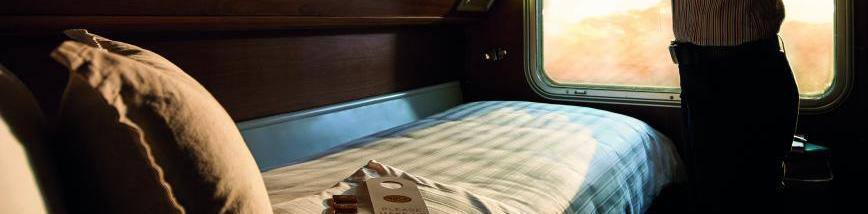 ON - BOARD THE GHAN GOLD SERVICE THE GHAN HISTORY Originally dubbed the Afghan Express, The Ghan train was named for the pioneering cameleers who blazed a permanent trail into the Red Centre of