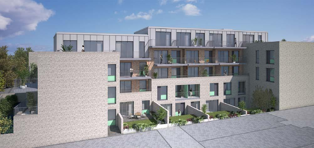 317a & 400 Hoe Street, Walthamstow, E17 9AA CGI of proposed