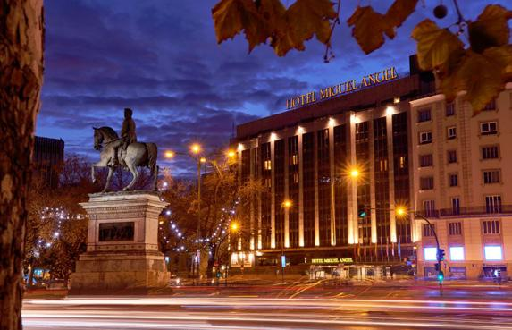 Spain Earlybirds - Madrid MIGUEL ANGEL BY BLUEBAY Miguel Angel by Bluebay is set in Madrid s Salamanca neighbourhood, within walking distance of the city s famous museums and features impressive