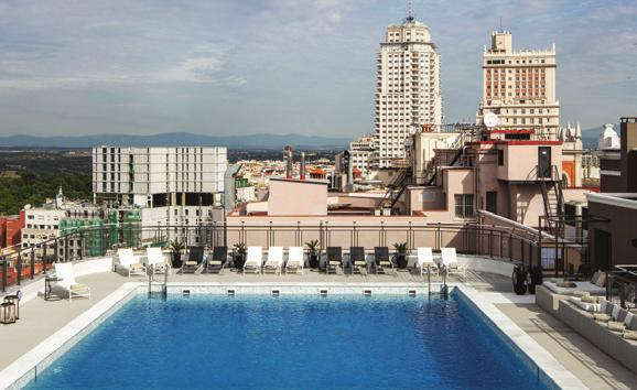 1 DAY Madrid City Hop-on Hop-off Bus Ticket VALID FOR TRAVEL: 1 Jul - 29 Aug, 5 Sep - 23 Oct 18+ 3 Nights from 399 * per person, EMPERADOR HOTEL MADRID Emperador Hotel Madrid is conveniently located