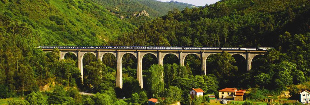 Spain Earlybirds - Rail EL TRANSCANTÁBRICO GRAN LUJO - 8 days/7 nights A spectacular rail journey between Santiago de Compostela and San Sebastián, taking in the stunning sights of Northern Spain.