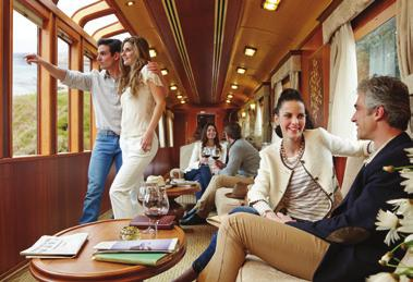 Transportation for off train excursions by luxury coach Touring with multilingual guide VALID FOR TRAVEL: 2, 16, 30 Jun, 18, 28 Jul, 25 Aug, 8, 22 Sep, 6, 20 Oct 18 Qantas Frequent Flyers can earn 1