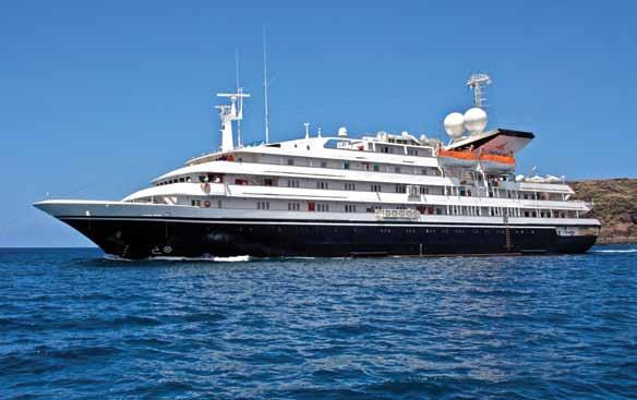 NAUTILUS LOUNGE CATEGORY VS CABIN Corinthian This deluxe, 100-passenger, all-suite cruise ship combines comfortable elegance with a high level of service and amenities.