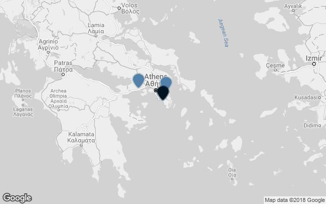 Map The hotel is close to: Elefterios Venizelos