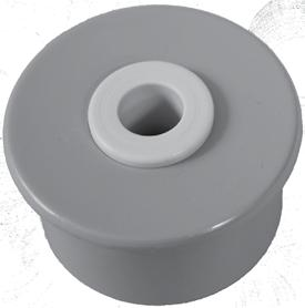 Components for Metal Tubes Plastic Endplugs Endplug Dimensions Tube Dimensions Flange O.D. Body O.D. O.D. I.D. Gauge Wall 1-8P 1.320 0.963 1.315 0.957 SCH 80 0.179 1-4P 1.320 1.055 1.315 1.