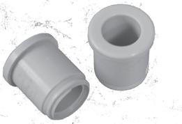 Components for Plastic Tubes 1/4-T -- 0.265 5/16-T -- 0.327 3/8-T 3/8-B 0.