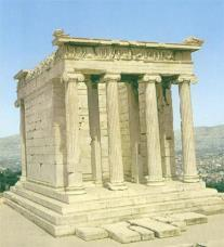 Kallicrates, Temple of Athena Nike