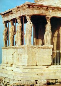 Hellenistic Erechtheion South view,