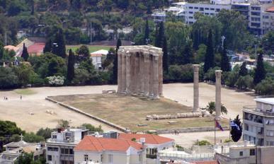 Temple of Zeus (the Olympeion) Greece, Athens, 41,1