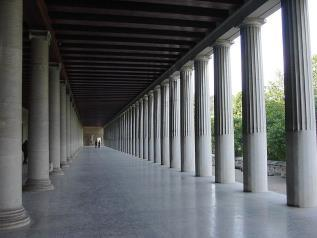 Stoa of Attalos Athenes, 150 BCE Source: