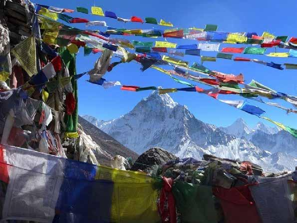 Day 10 - Everest Base Camp Walking Distance: 15km (6-8 hours) This is it! Your big day kicks off with an initial, relatively easy trek from Lobuche to Gorekshep.