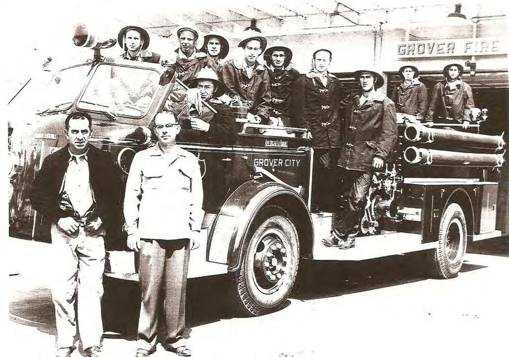 On June 1, 1960 the City of Grover City established its own Fire Department.