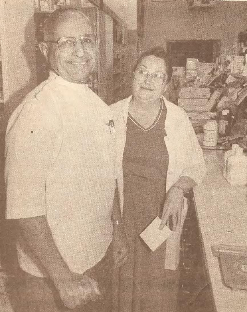 The owner s of Grover City Pharmacy, Gene & Gracia Bello, filled their first prescription on August 1, 1952.