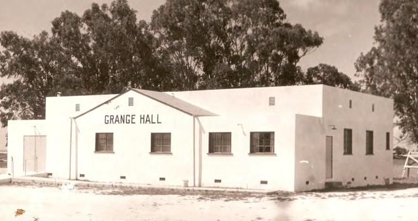 Horace Bagwell was instrumental in the establishment of the Grover City Grange as well as assisting with