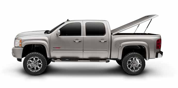 SOPHISTICATED DESIGN, SUPERIOR FINISH The LUX is a sleek, durable onepiece truck bed cover that is painted to match the color of your
