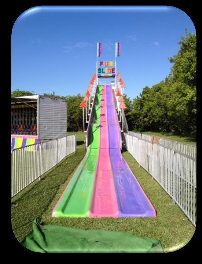 Height Requirement: 34 (No Taller than 42 ) SLIDE The Fun Slide will make any school slide look
