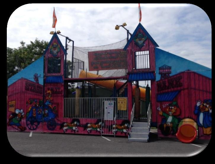 HUNT / KIDSTOWN Your Little One will want to make many trips to the fun house through the