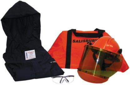 The kit includes the following items: Salisbury carrying bag,