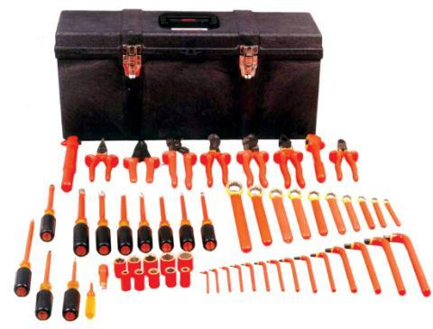 Insulated Tools Insulated tools that meet ASTM F1505 and OSHA 1910.333 (c)(2).