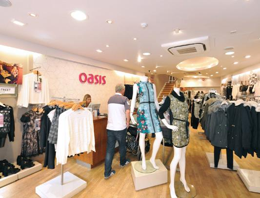 Oasis Fashions Retail Ltd has a Dun & Bradstreet rating of 2A2 reflecting a tangible net worth of 3,000,000 and a lower than average risk of business failure.