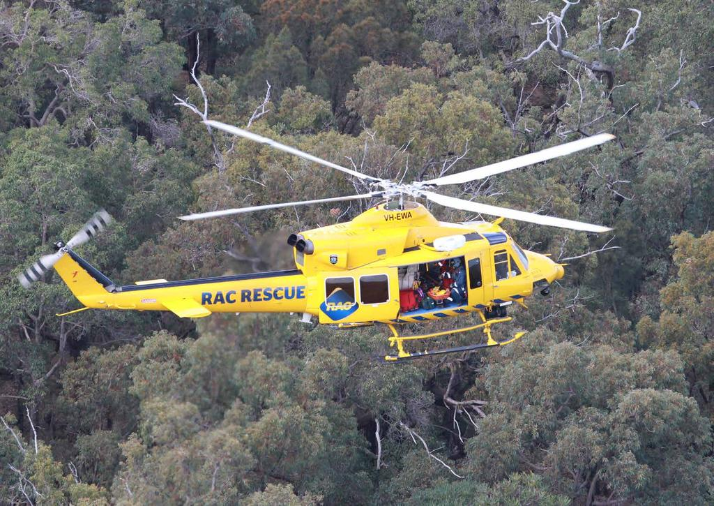 Cover Image - S92 aircraft above Willie Creek, north of Broome This Page - RAC Rescue aircraft over forest near Perth Our Vision of Reconciliation Our Business Our