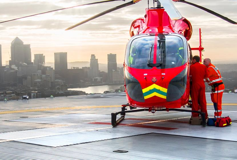 Executive summary London s Air Ambulance delivers world-class pre-hospital care to Londoners helping 2,000 critically injured people inside the M25 every year. Providing a 24/7 service costs 8.