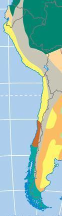 Chile Latitudes like Baja