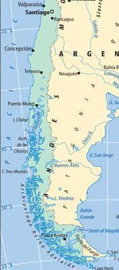 Southern Chile South of