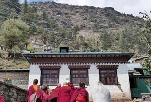 3 November 11 Sunday Visit Thuptenchholing Monastery and hike to Sinsare Danda (7 8 miles, ~4 5 hours; 1746 elevation gain) After breakfast we will hike to Thubten Chholing.