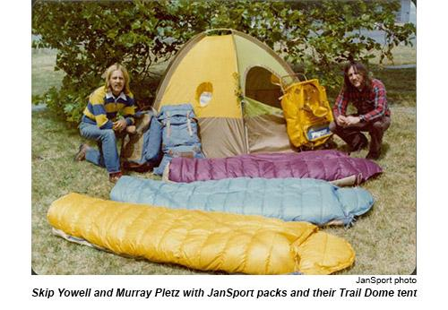 Skip, Murray, and Jan put their packs to the test on outdoor adventures of their own.