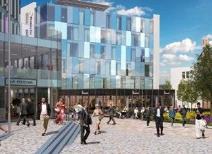 Phase One - a new 6 storey office building - 32,000 sq ft, a 60 Bed Premier Inn hotel and car park Phase Two - Cathedral Square will provide up to 55,000 sq ft of office accommodation