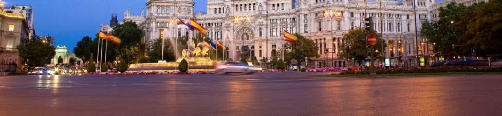 As one of the most iconic places of Madrid, Cibeles Square offers historical and architectural monuments such as its 18 th century fountain.