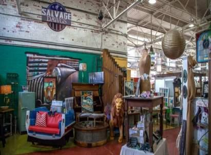 VISIT BLACK DOG SALVAGE 1-3 hours / Self Guided Black Dog Salvage is an architectural salvage business and Design Center located in Roanoke, VA and home to DIY Network's Salvage Dawgs.