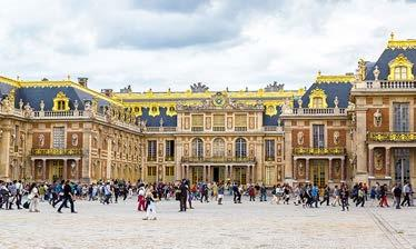 Versailles The Palace of Versailles is the former French royal residence and center of government located 16 km southwest of Paris.