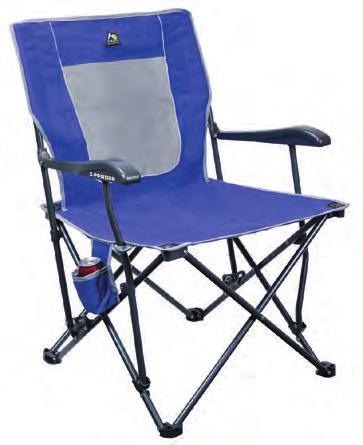 planned! Designed with a one-step set up and 3-position backrest, this chair will provide fast and lasting comfort.
