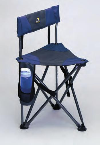 7 in The Quik-E-Seat features a padded backrest and seat.