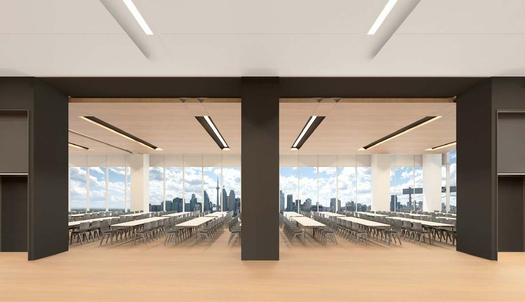 LEVEL 17 AUDIO VISUAL & TECHNICAL SERVICES The Globe and Mail Centre is a state-of-the-art facility supporting web streaming, video conferencing and multi-media presentations VIDEO Large surround