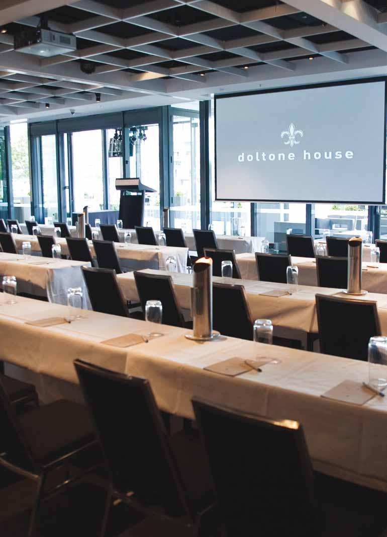 what makes Doltone House Darling Island Wharf the perfect choice for an environmentally conscious event.
