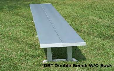 14 $590 BE-DB24 24' 165 16 $680 PORTABLE LOCKER ROOM BENCH W/O BACK (ALUMINUM LEGS) BE-DE06 6' 46 4 $225 BE-DE08 8' 50 5 $235 BE-DE12 12' 62 8 $330