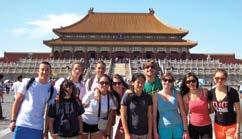 Through a combination of classroom study and excursions, students will have a unique opportunity to expand their language skills while experiencing China s rich culture, tradition and history.