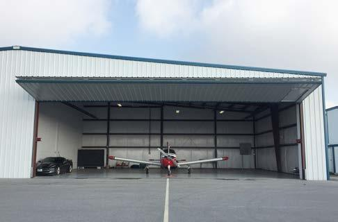 300 HANGAR SPACE CONDO T-HANGAR FOR SALE LACHUTE AIRPORT CSE4 32 x 42 x 16 including 16x16 furnished apartment.