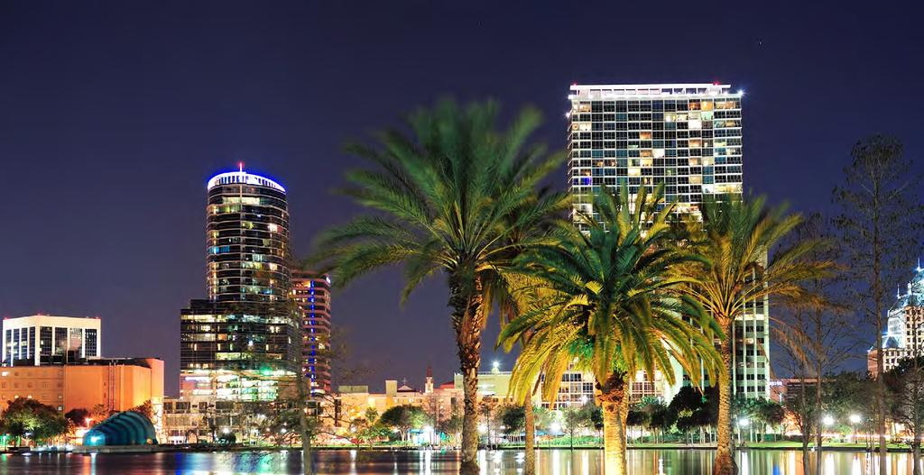 MARKET OVERVIEW MARKET OVERVIEW: Orlando, Florida Orlando is a city in Florida and the county seat of Orange County.