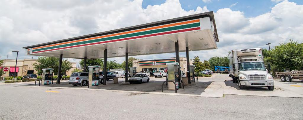 TENANT OVERVIEW TENANT OVERVIEW: 7-Eleven 7-Eleven is the world s largest convenience store chain operating, franchising and licensing more than 56,600 stores in 18 countries.
