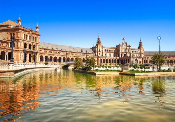 Here we'll have time to wander around the historic quarter, which has a beautiful Renaissance cathedral, before travelling on to the Andalusian city of Granada. Jerez - Seville.