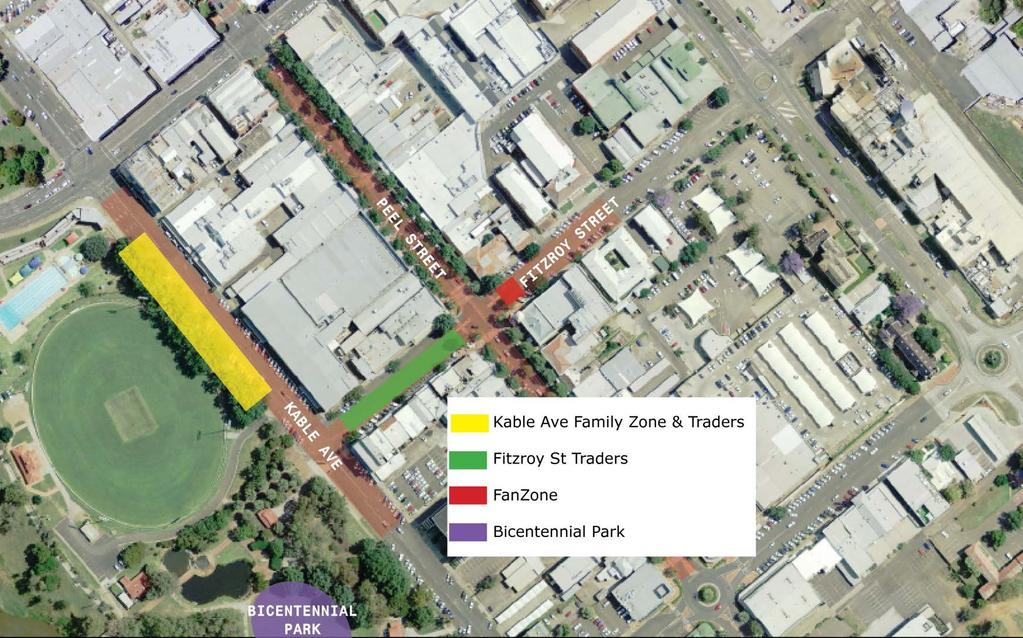 9. Site Map Please see site map below highlighting the Family Zone precinct. This is indicative only and not to scale.
