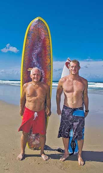publicised the Aussie power surfing style) through to brief sections on Kelly Slater and Mick Fanning, the modern gurus who inherited the surfboard revolution and who have brilliantly refined both