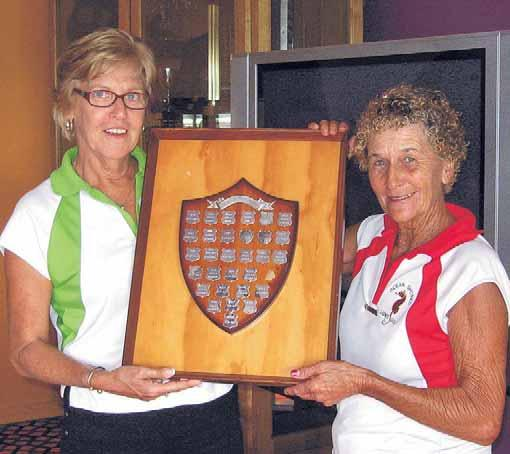 Sport results@echo.net.au Shores Ladies win OSMUR The Ocean Shores Ladies Golfers hosted the annual OSMUR Shield on Tuesday April 6 at the Ocean Shores Country Club.