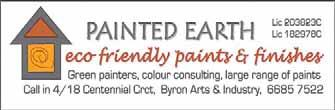..0414 225604 or 66805049 NORTH POINT PAINTING SERVICES Quality only. Lic 618414C...66847137 or 0403 332654 PAINTING & DECORATING Free quotes. Lic 215392C.