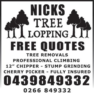 insured professionals Qualified arborist 18 chipper, stump grinders, cherry picker, bobcat & cranetruck.